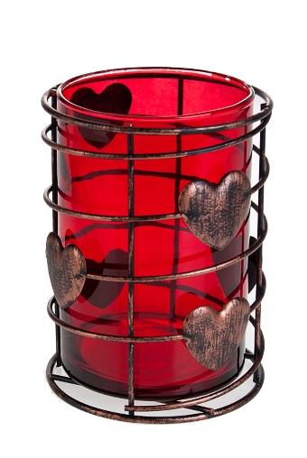 """Подсвечники Красный куб Подсвечник для свечи-таблетки """"Оковы любви"""""""