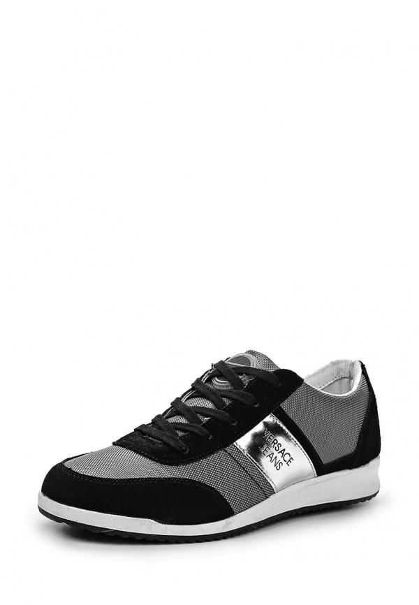 Кроссовки Versace Jeans E0YLBS06 серые, чёрные