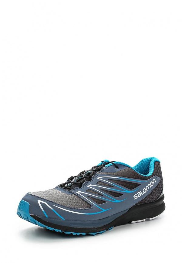Кроссовки Salomon L37090500 синие, чёрные