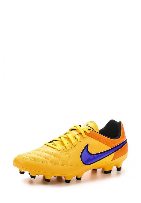 Бутсы Nike 631282-858 оранжевые