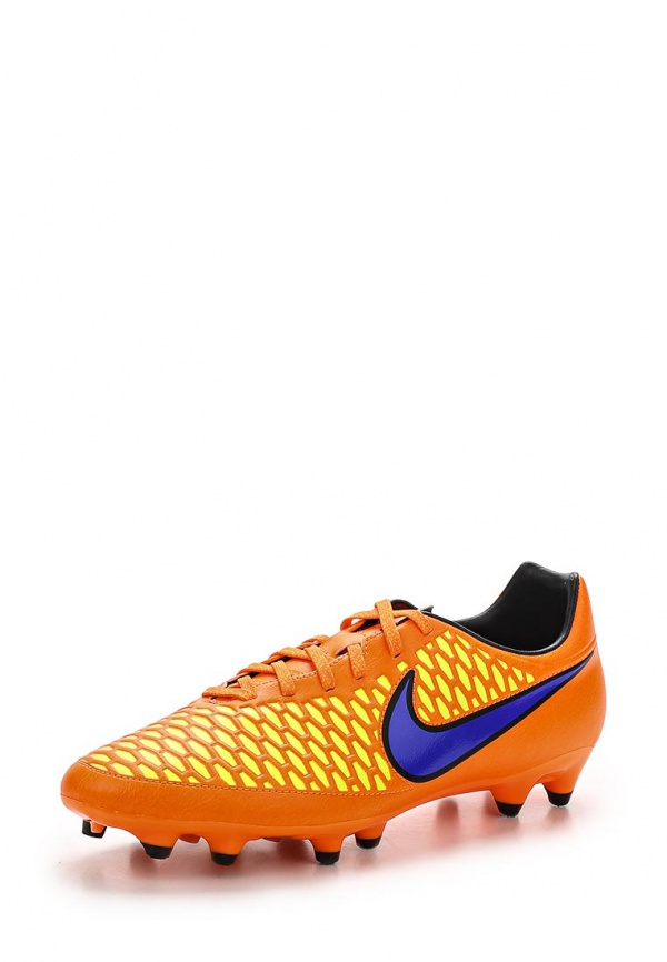 Бутсы Nike 651543-858 оранжевые