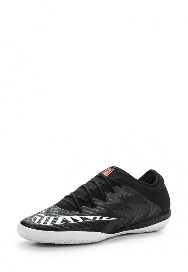Бутсы зальные Nike 725246-018 чёрные