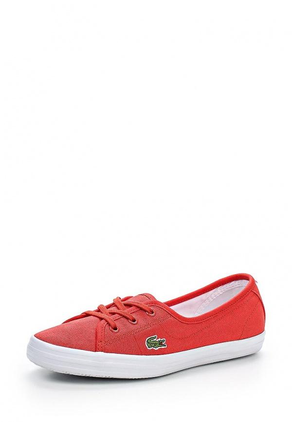 Кеды Lacoste SPW1027RR1 красные