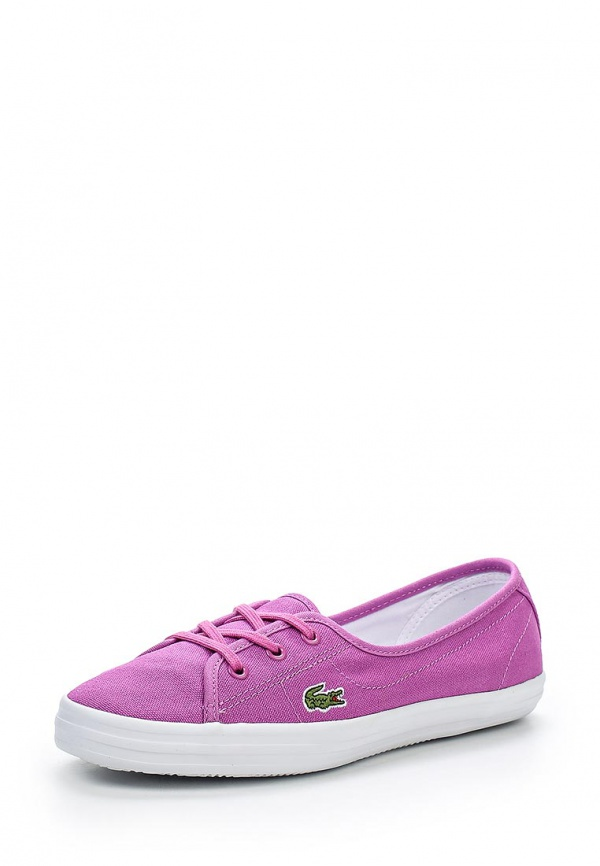 Кеды Lacoste SPW1027PP2 фиолетовые