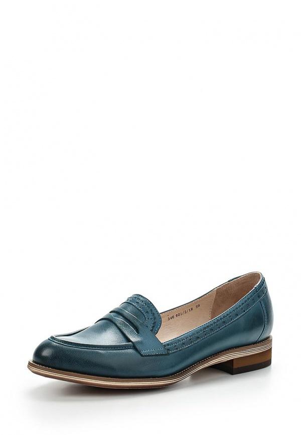 Лоферы Valley 546 601/2/18 голубые
