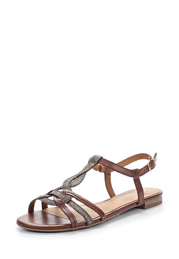 Сандалии Caprice 9-9-28139-24-306 коричневые, серые