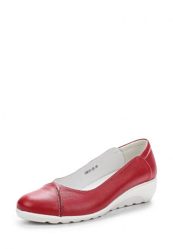 Туфли La Grandezza F2613-2H красные