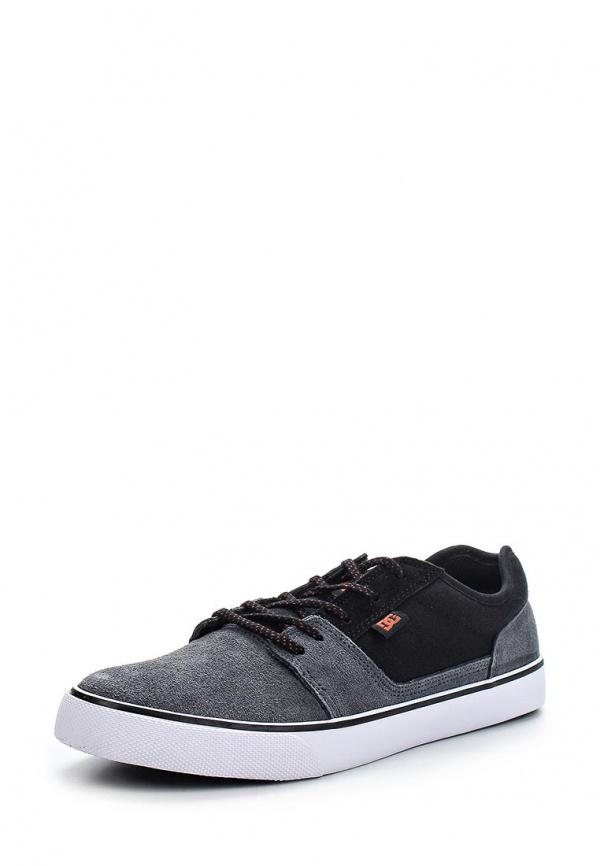Кеды DC Shoes 302905 серые, чёрные