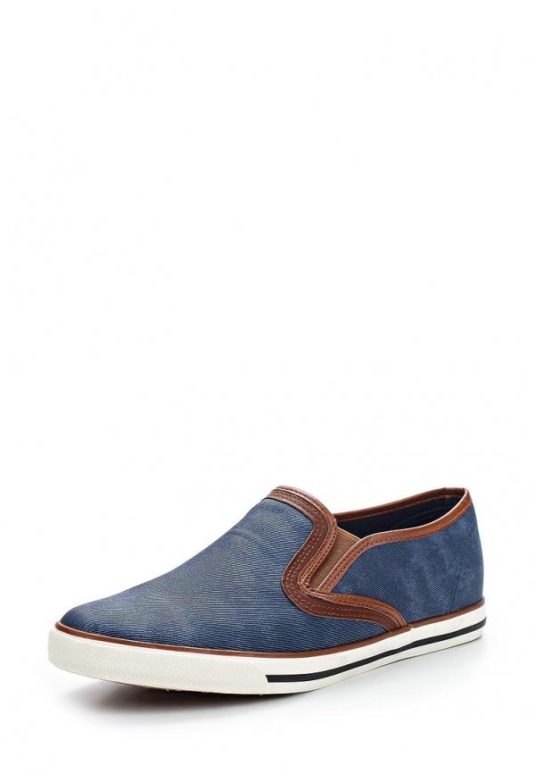 Слипоны T.P.T. Shoes XJY-2 синие