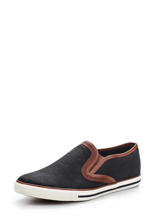 Слипоны T.P.T. Shoes XJY-2 чёрные