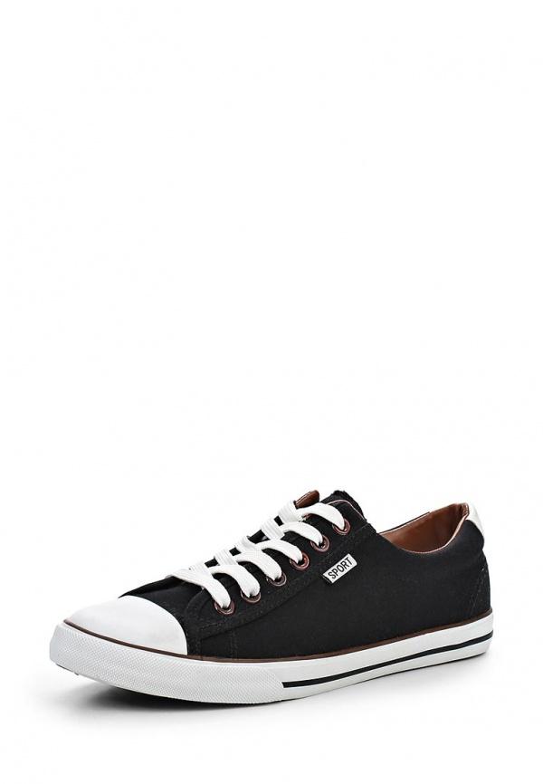 Кеды T.P.T. Shoes BN-136 чёрные