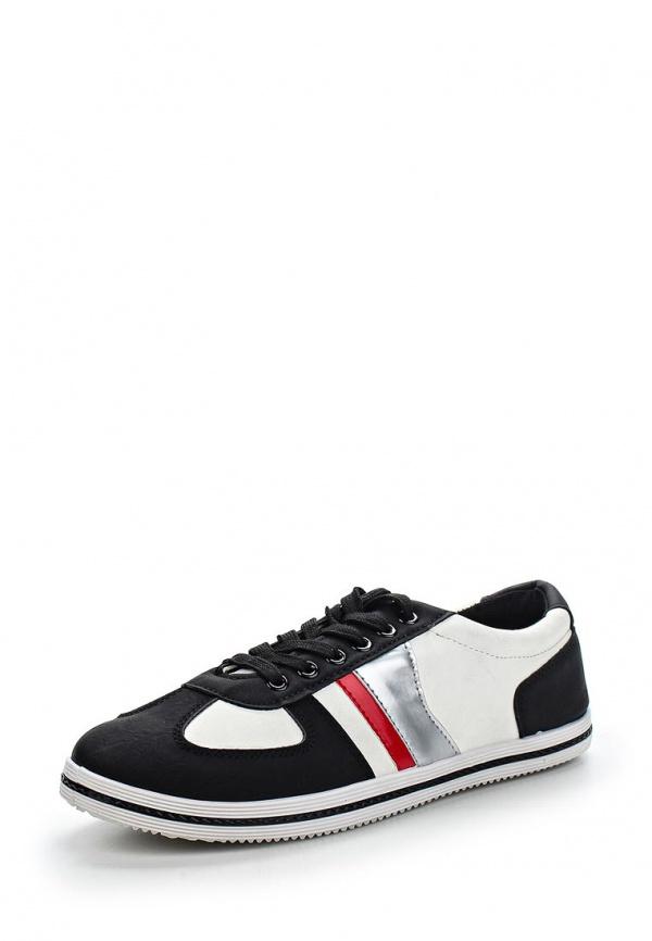 Кеды WS Shoes 117 белые, чёрные