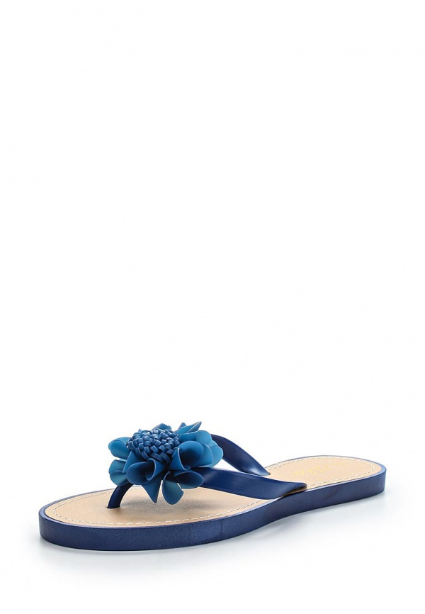 Сланцы Ella DAISY синие