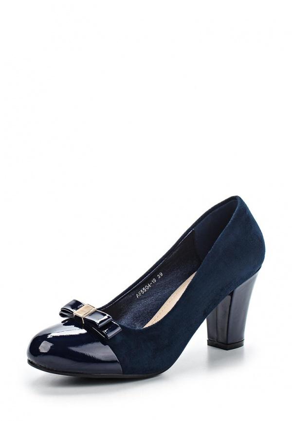 Туфли Girlhood AF5504-19 синие