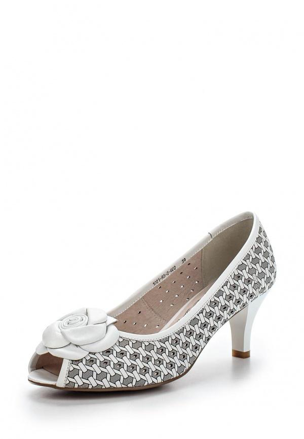 Туфли La Grandezza 1021-93-2-602 белые