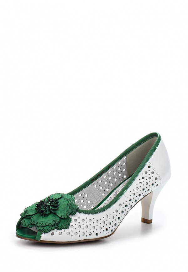 Туфли La Grandezza 1021-99-602 белые