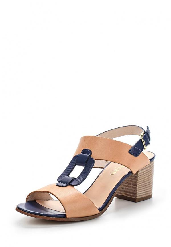Босоножки Paola Ferri 5130 коричневые, синие