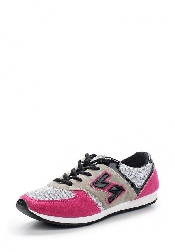 Кроссовки WS Shoes 802 розовые, серые