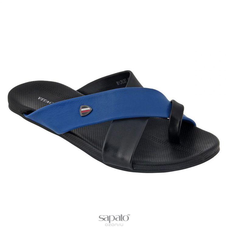 Шлепанцы Vitacci Шлепанцы мужские. M1363 синие