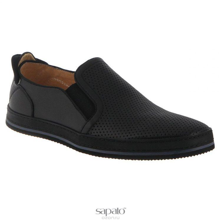Туфли Vitacci Туфли мужские. M17993 чёрные