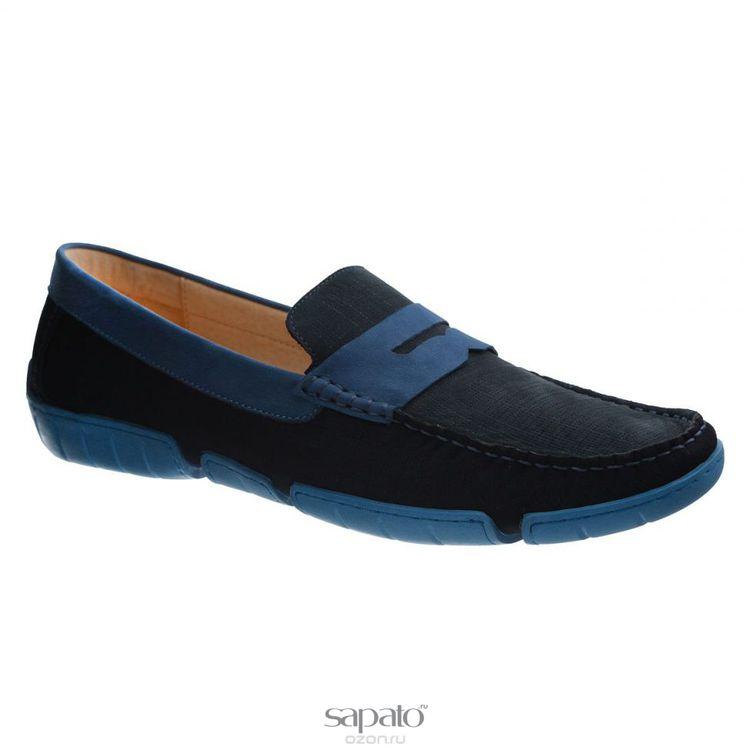 Мокасины Vitacci Мокасины мужские. M1371 синие