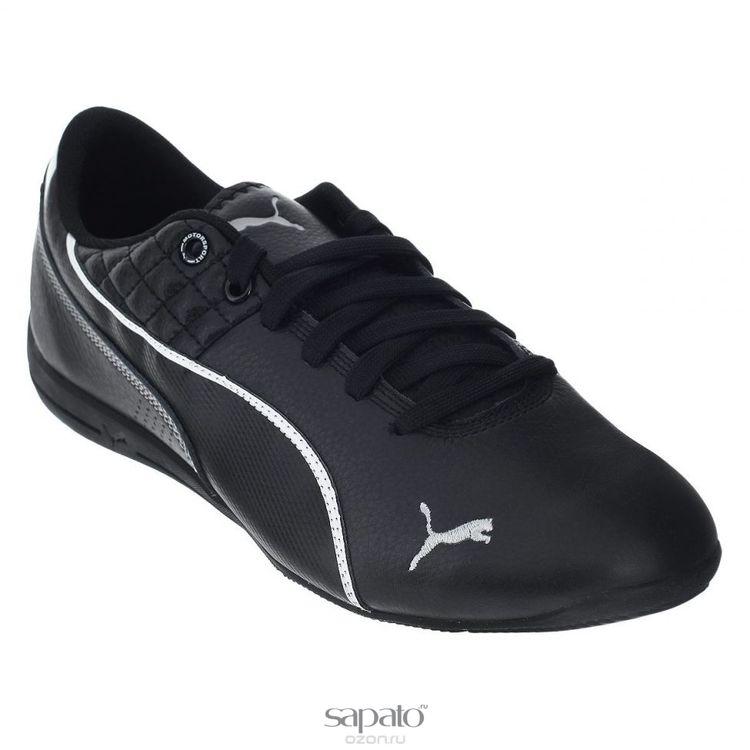 Кроссовки Puma Кроссовки мужские Drift Cat 6 Tech чёрные