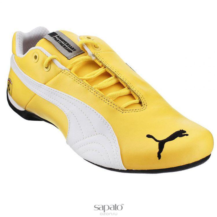 Кроссовки Puma Кроссовки мужские Future Cat Leather SF-10 жёлтые