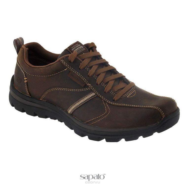 Кроссовки Skechers Кроссовки мужские Levoy коричневые