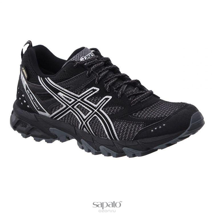 Кроссовки Asics Кроссовки мужские для бега Gel-Trail Lahar 6 G-TX чёрные