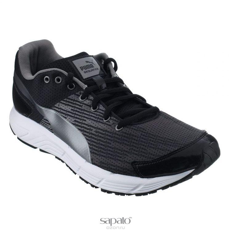 Кроссовки Puma Кроссовки мужские для бега Sequence чёрные