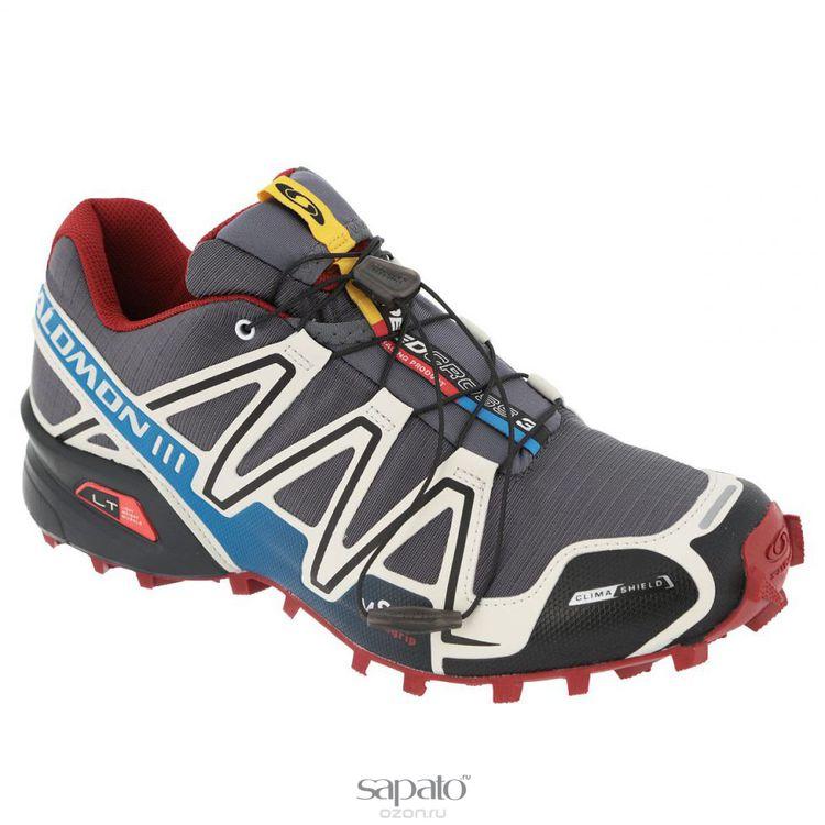 Кроссовки Salomon Кроссовки мужские для бега Speedcross 3 CS голубые