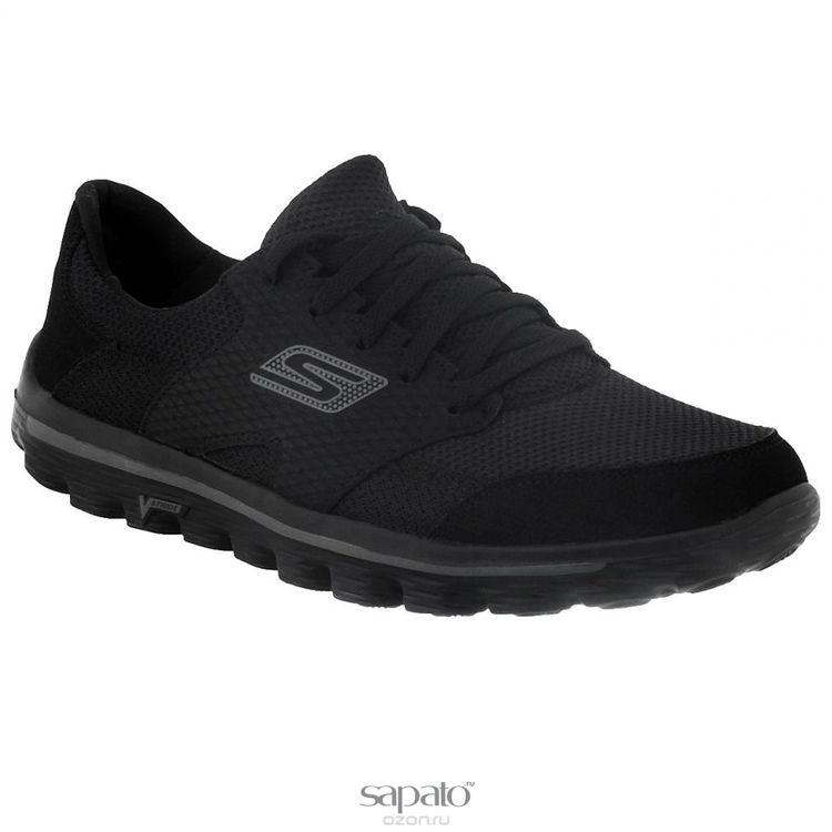 Кроссовки Skechers Кроссовки мужские для бега Go Walk 2 Stance чёрные