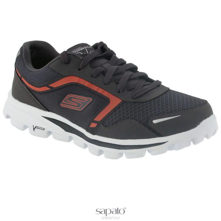 Кроссовки Skechers Кроссовки мужские для бега Go Walk Deluxe оранжевые