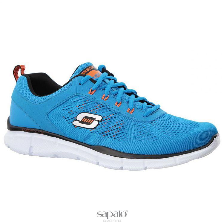 Кроссовки Skechers Кроссовки мужские для фитнеса Equalizer Deal Maker голубые