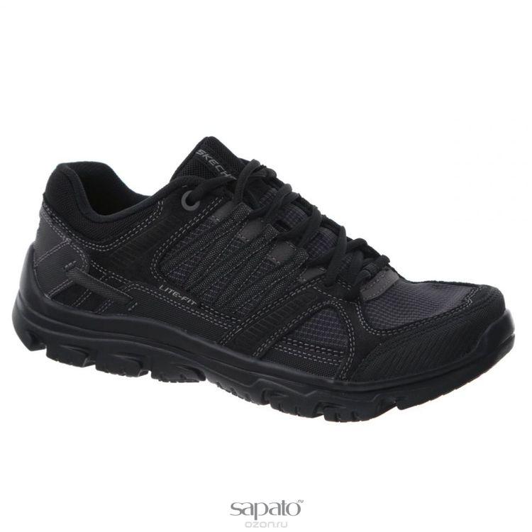 Кроссовки Skechers Кроссовки мужские для фитнеса L-Fit Identify чёрные