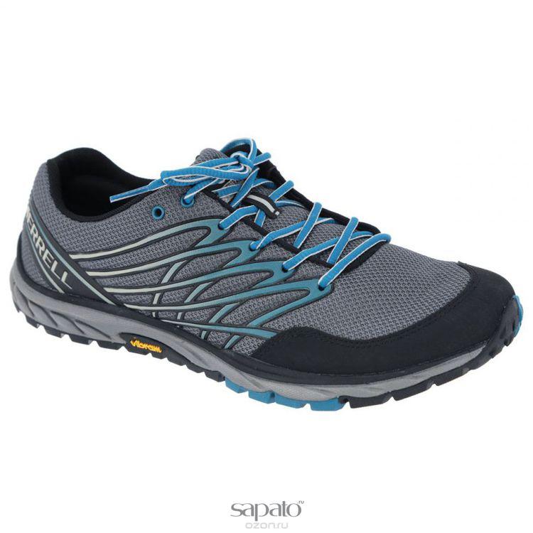 Кроссовки Merrell Кроссовки мужские трекинговые Bare Access Trail. J01631 голубые