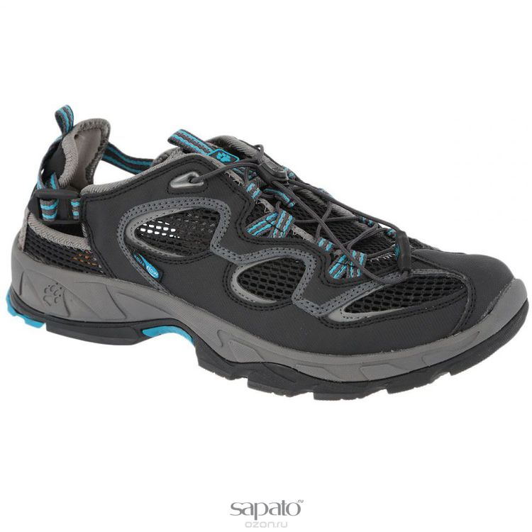 Кроссовки Jack Wolfskin Кроссовки мужские треккинговые Canyon Rave. 4010101 голубые