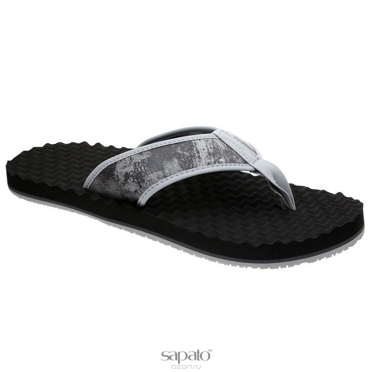 Сланцы The North Face Сланцы мужские Base Camp Flip-Flop. T0ABPEAQZ серые