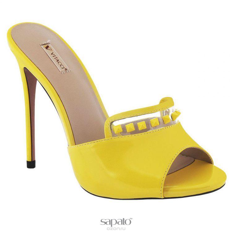 Сабо Vitacci Сабо женские. 5013 жёлтые