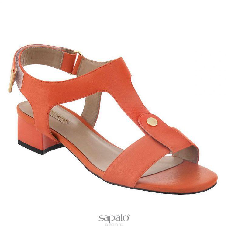 Босоножки Vitacci Босоножки. 50137 оранжевые
