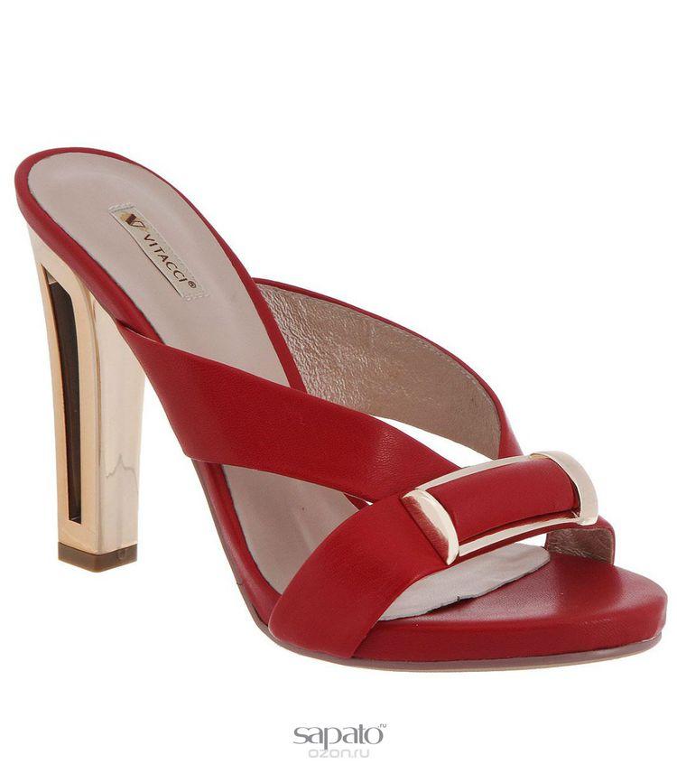 Сабо Vitacci Сабо женские. 730 красные