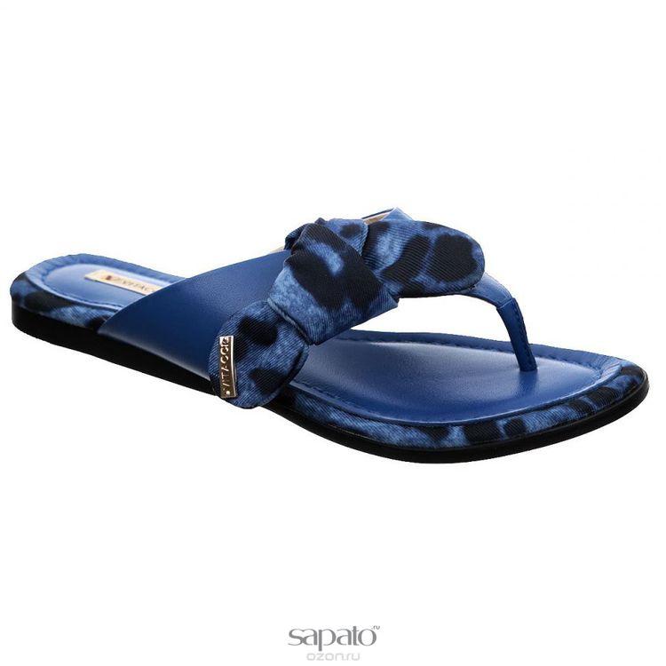 Сланцы Vitacci Сланцы женские. 1198 синие