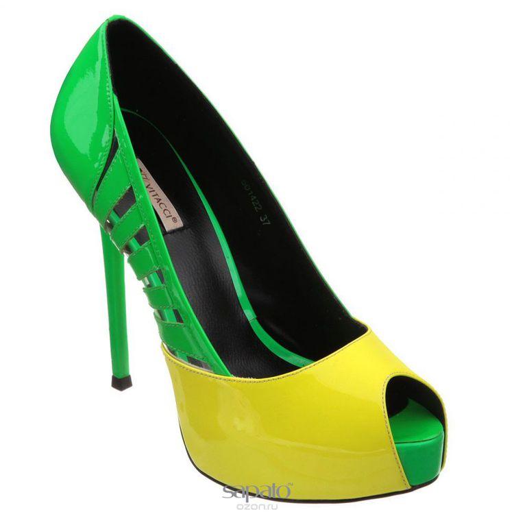 Туфли Vitacci Туфли женские. 501422 жёлтые