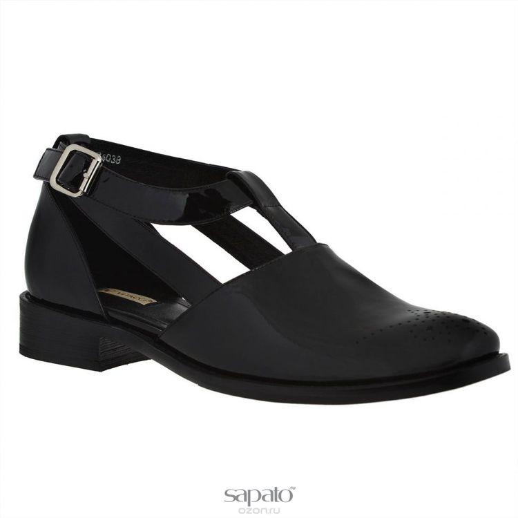Туфли Vitacci Туфли женские. 74038 чёрные