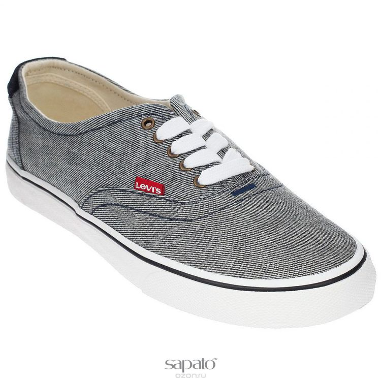 Кеды Levis Кеды мужские Original Red Tab Sneaker Low чёрные