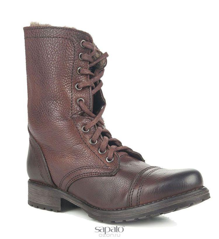 Ботинки Steve Madden Ботинки жен. Steve madden TROOKA-F коричневые