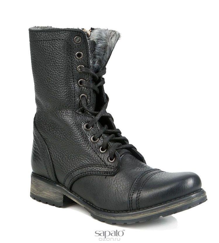 Ботинки Steve Madden Ботинки жен. Steve madden TROOKA-F чёрные