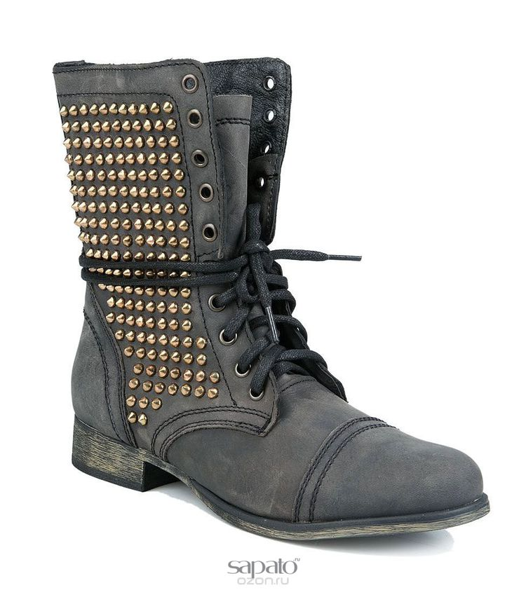Ботинки Steve Madden Ботинки жен. Steve madden TULSA чёрные