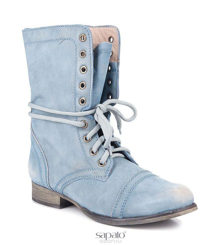 Ботинки Steve Madden Ботинки женские. TROOPA голубые
