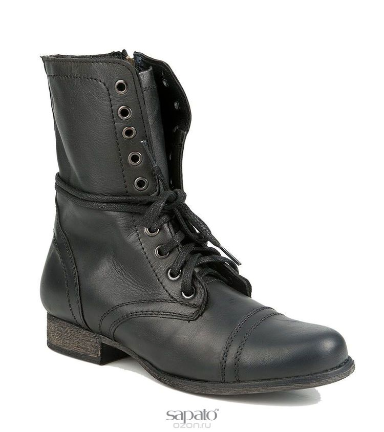 Ботинки Steve Madden Ботинки женские. TROOPA чёрные
